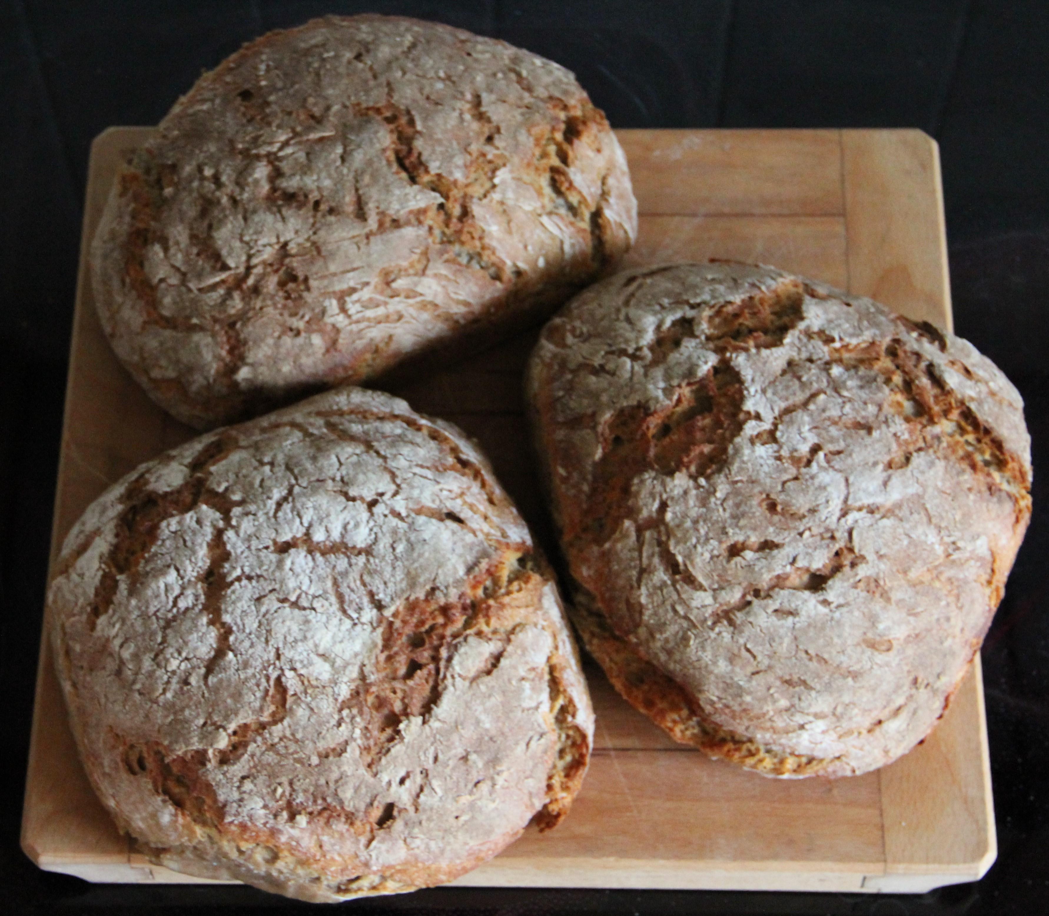 bröd rågmjöl vetemjöl